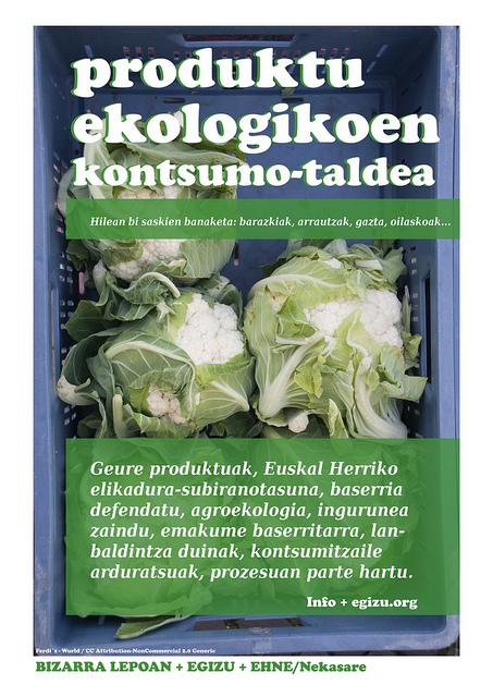 Produktu ekologikoen kontsumo-taldea