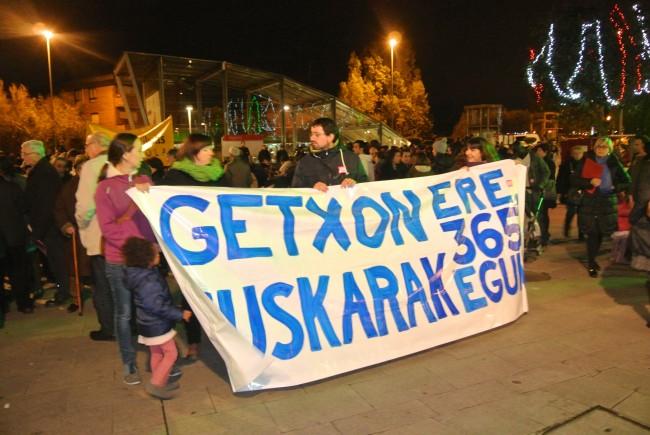 Getxon ere, euskarak 365 egun