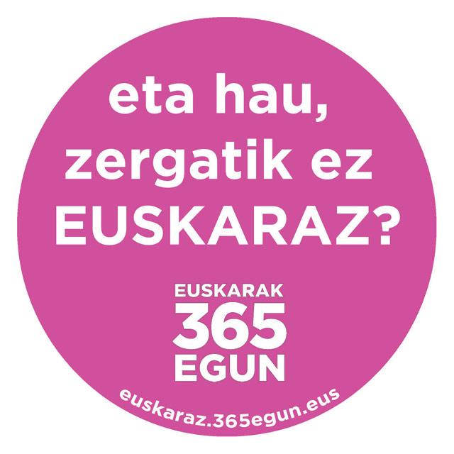#ZergatikEzEuskaraz
