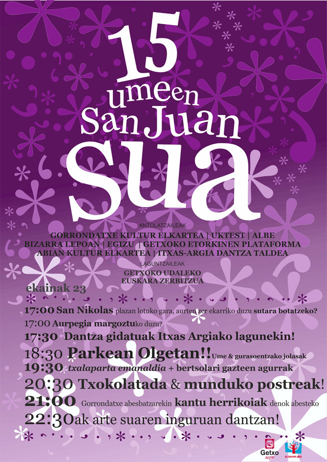 Umeen San Juan Sua jaia 2015