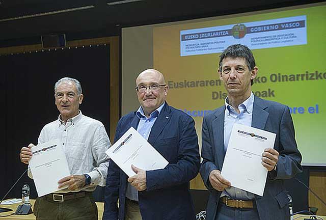 Baztarrika eta Martinez de Luna / argazkia Berria.eus