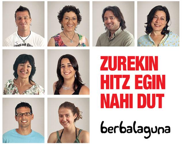 """""""Zurekin hitz egin nahi dut"""" aurttengo kanpaina"""
