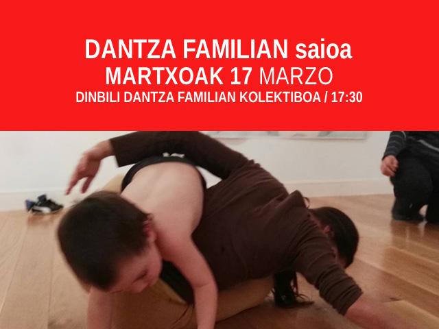 Dantza familian saioa